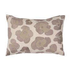 """Animal Print Pattern Neutral Cotton Down Fill Pillow ( 14""""X20"""")"""