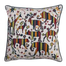 """Modern/Contemporary Pattern Multi Cotton And Polyester Down Fill Pillow ( 20""""X20"""")"""