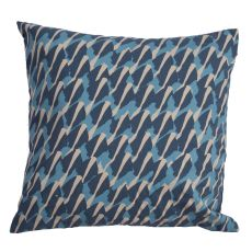"Modern/Contemporary Pattern Blue Cotton And Polyester Down Fill Pillow ( 20""X20"")"