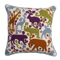 "Modern/Contemporary Pattern Multi Cotton Down Fill Pillow ( 18""x18"")"