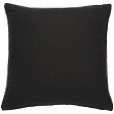 """Geometric Pattern Black/White Cotton Down Fill Pillow ( 20""""X20"""")"""