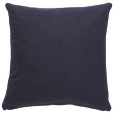 "Geometric Pattern Blue Cotton Down Fill Pillow ( 20""X20"")"