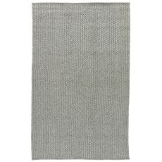Youth Solids & Heather Pattern Gray/Neutral Polypropylene, Viscose And Polyster Area Rug ( 9X12)