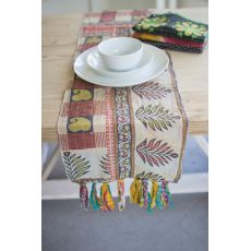Assorted Kantha Table Runners, Set of 4