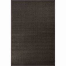 Naturals Solid Pattern Gray/Taupe Sisal Area Rug (9x12)