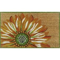 """Liora Manne Natura Sunflower Outdoor Mat Yellow 18""""X30"""""""