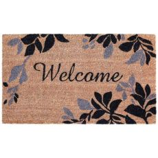 "Liora Manne Natura Leaves Border Outdoor Mat  18""X30"""