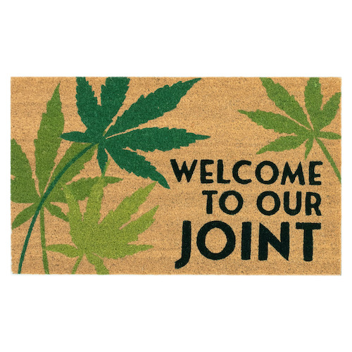 """Liora Manne Natura Welcome To Our Joint Outdoor Mat Natural 18""""X30"""""""