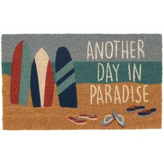 "Liora Manne Natura Beach Paradise Outdoor Mat Nautical 18""x30"""