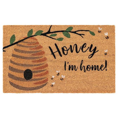"""Liora Manne Natura Honey I'm Home Outdoor Mat Natural 24""""X36"""""""