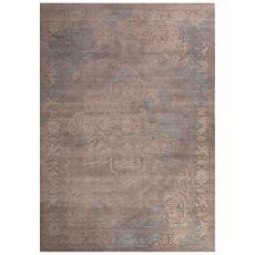 Classic Oriental Pattern Gray/Ivory Polypropylene Area Rug (9X12)
