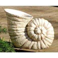 Nautilus Shell Resin Planter