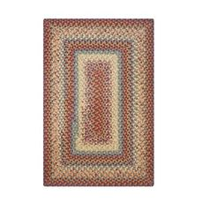Homespice Decor 6' x 9' Rect. Neverland Cotton Braided Rug