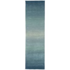 "Liora Manne Ombre Horizon Indoor Rug - Blue, 27"" By 8'"
