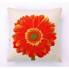 Orange Gerbera Hook Pillow
