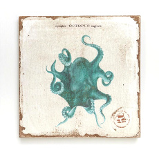 Octopus Lithograph Art