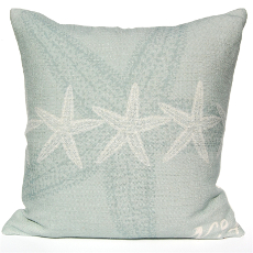 Starfish Pillow - Silverberry