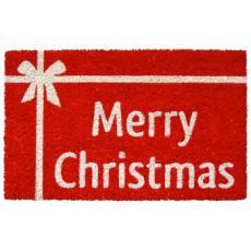 Christmas Present Non Slip Coconut Fiber Doormat