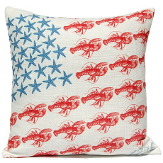 Stars & Lobsters Pillow