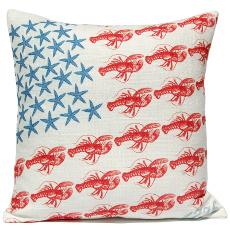 Stars & Lobsters Pillow