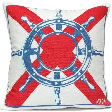 Ships Wheel Pillow