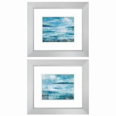 Isle  Set of 2 Framed Beach Wall Art
