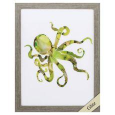 Octopus Framed Beach Wall Art