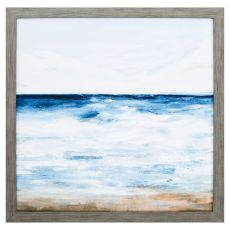 Ocean I Framed Beach Wall Art