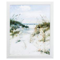Dune View Framed Beach Wall Art