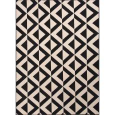 Tribal Pattern Polypropylene Patio Area Rug