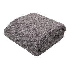 "Dark Gray Cotton Throw (50""X60"")"