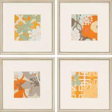 Ginger Blossom I Pk/4 Framed Art