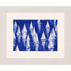 Blue Regatta Framed Art