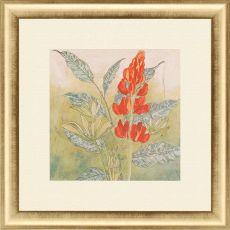 Crimson Tropical II Framed Art