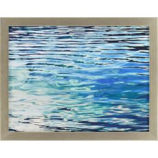 Aqua Reflections Framed Art