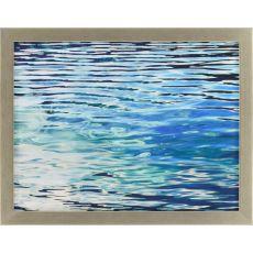 Aqua Reflections Framed Art