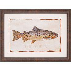 Brown Trout Framed Art