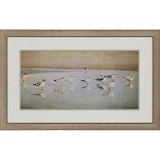Coastal Reflections Framed Art