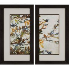 Flock Together Pk/2 Framed Art