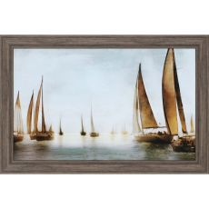 Golden Sails Framed Art