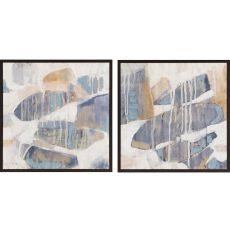 Orbs Dissolve Pk/2 Framed Art