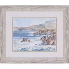 Coastal Watercolor II Framed Art