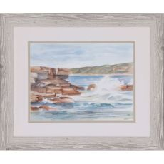 Coastal Watercolor III Framed Art