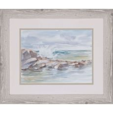 Coastal Watercolor IV Framed Art