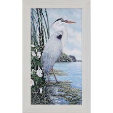 Great Blue Heron Framed Art