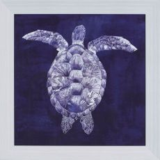 Sea Turtle Shadow I Framed Art