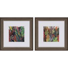 Jungle Cactus Pk/2 Framed Art
