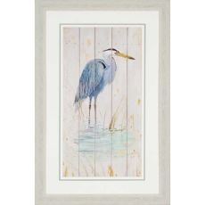 Blue Heron Framed Art