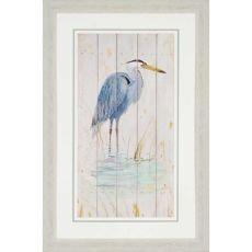 Blue Heron Framed Art