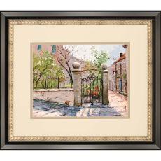 Sunlit Garden Framed Art